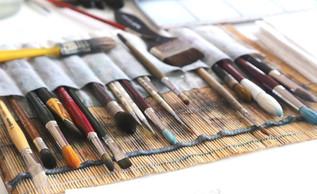 Живопис на полотні маслом і ватмані - особливості