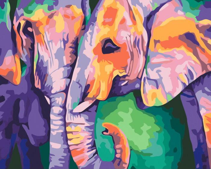 Картины по номерам пастельными красками в интернет...