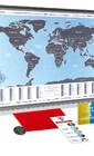 Стильное украшение для офиса - скретч-карта мира