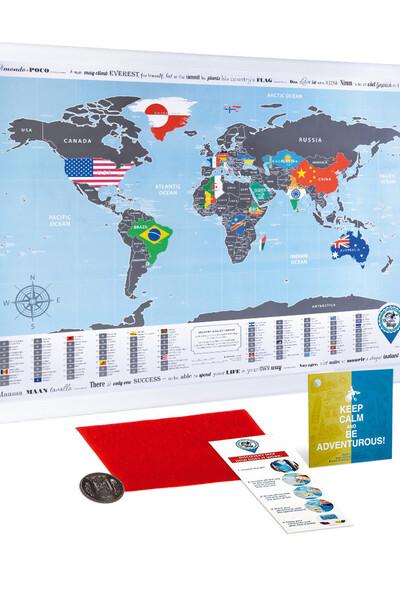 Отличный подарок для особых случаев (карта мира)
