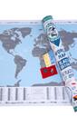 Карта мира с ярким дизайном это - FLAGS EDITION