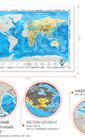 Яркий и незабываемый подарок - карта мира на украинском