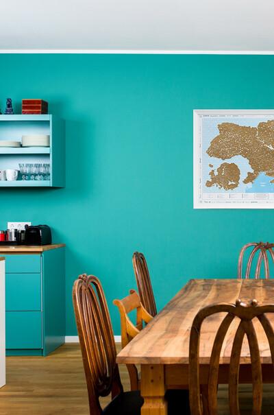 """Для офиса и  кабинета-стильное украшение  скретч-карта """"Відкривай Україну!"""""""
