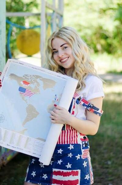 Залиш собі враження вд подорожі! Карта світу FLAGS EDITION