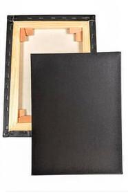Хлопок грунт черный, 45*18 мм (ср.зер, галерейная)