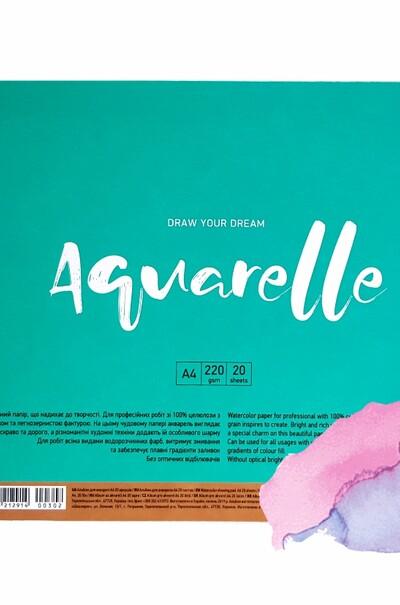 Папір акварельний MUSE Aquarelle А4
