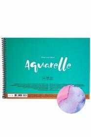 Альбом на пружине MUSE Aquarelle А4, 220 г/м2, 20 листов