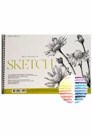 "Скетчбук для ескізів ""MUSE"" Sketch, А4, 50 аркушів"