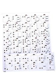 Испанский алфавит Брайля