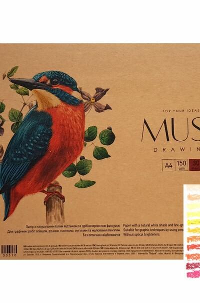 Альбом для акварели MUSE А4