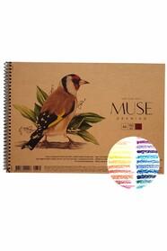 Скетчбук для пастел А4, щільність 150 г/м2, 30 аркушів