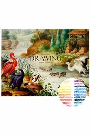 Альбом-склейка для малювання MUSE Drawing А4, щільність 150 г/м2, 20 аркушів
