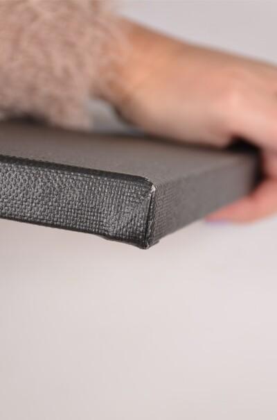 Холст на подрамнике черный грунт  (арт. ВSG-30СН)
