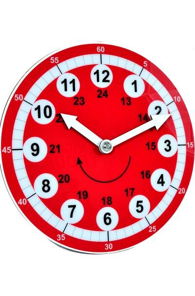 Акриловые часы для обучения детей