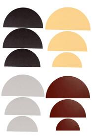 Півколо полотна у наборі (бавовна, сер.зерно, колір)