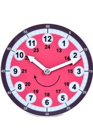 Навчальний годинник Pink