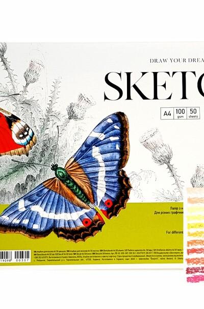 Папір для пастелі А4 MUSE Sketch