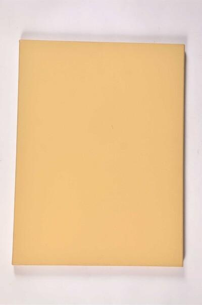 Кольорове полотно в рулоні. Колір охра.