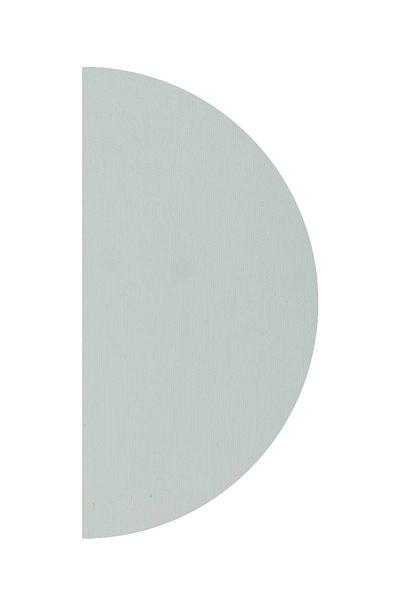 Полотно півколо колір сірий