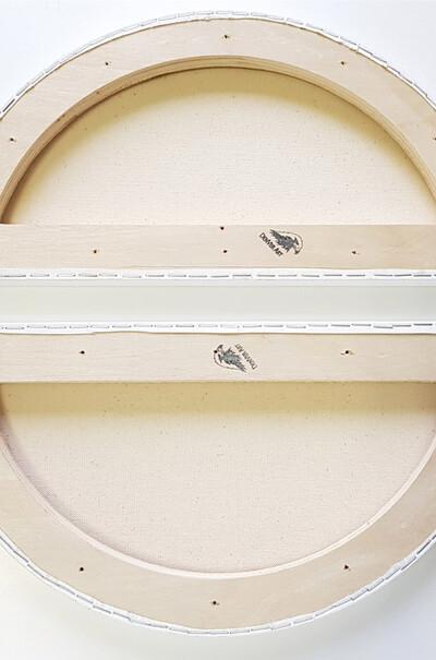 Холст льняной на подрамнике полукруг  (арт. LР-В)