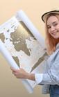 Карта мира для незабываемых впечатлений