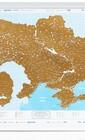 Самая детальная туристическая карта Украины с дополнениями