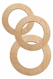 Подрамники круглой формы в наборе (без холста)