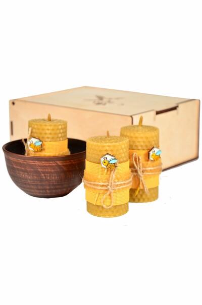 свечи медовые