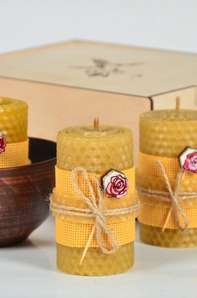 свічки з вощини
