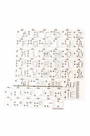 Немецкая азбука Брайля