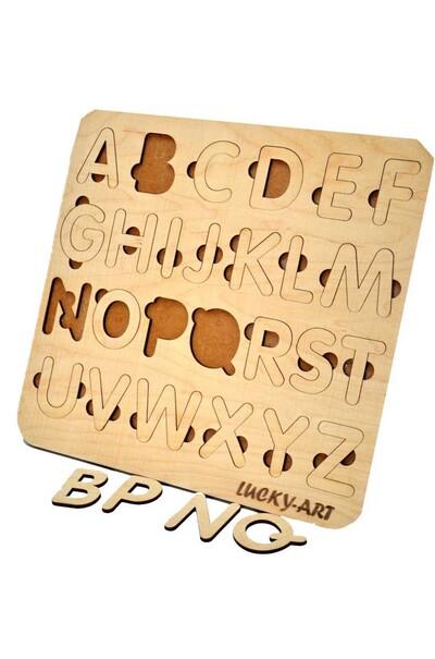 Деревянная азбука английская для детей