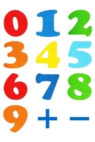 Обучающие цифры