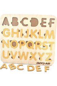 Англійський алфавіт золоті літери