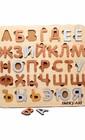 Сортер російська абетка на магнітах з чохлом  (арт. СРБ-3D)