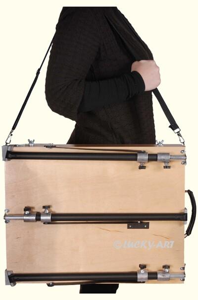 Етюдник з широким ременем для зручної переноски