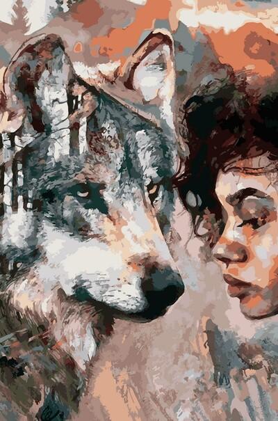 Душа волка  (арт. VP975)