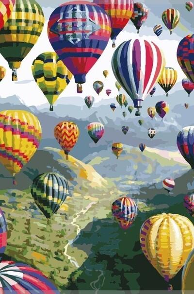 Разноцветные шары  (арт. KH1056)