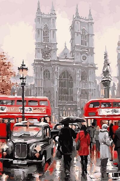 Дощовий Лондон худ. МакНейл Річард  (арт. VP441new)