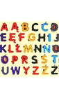 Яскрава кольорова абетка польської мови