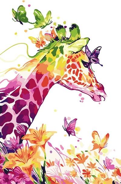 Сказочный жираф  (арт. AS0053)
