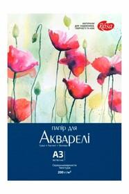 Папка для акварели (Цветы)