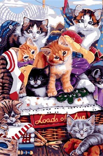 Пустотливі кошенята  (арт. MR-Q1764)