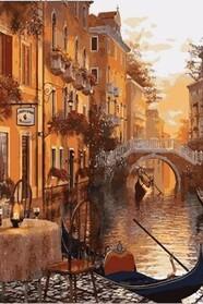 Венеція Кафе на березі каналу
