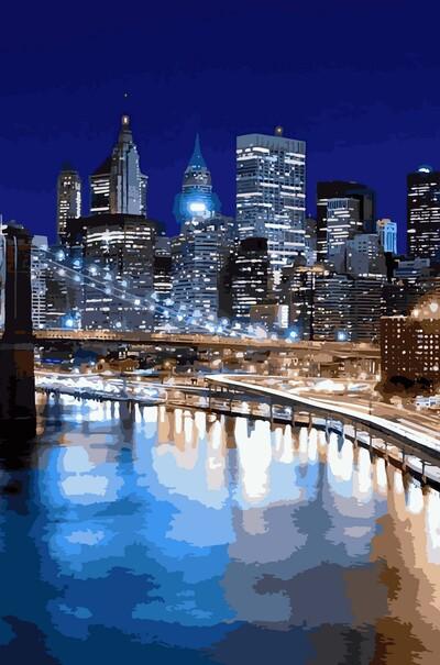 Огни Нью-Йорка  (арт. VP940)