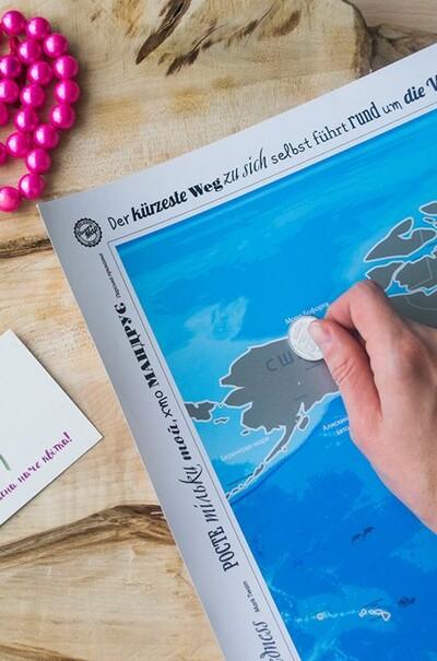 Скретч-карта світу - ваші незабутні враження