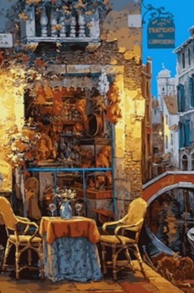 Венеціанське кафе худ. Віктор Швайко  (арт. VP642)