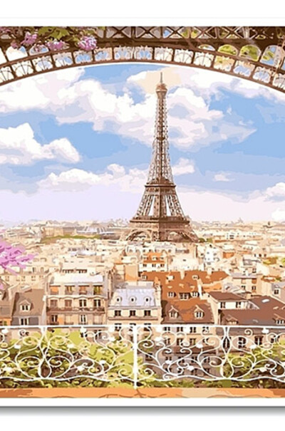 Триптих Весняний Париж  (арт. VPT006)