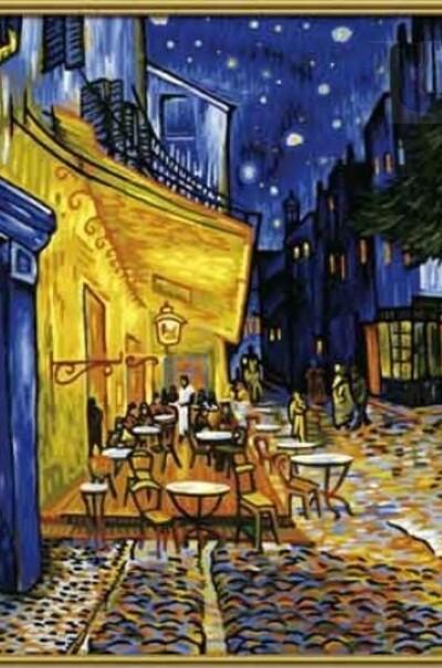 Ночная терраса кафе худ. Ван Гог Винсент