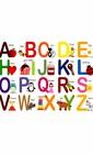Магнітні англійські букви для магнітних дощок