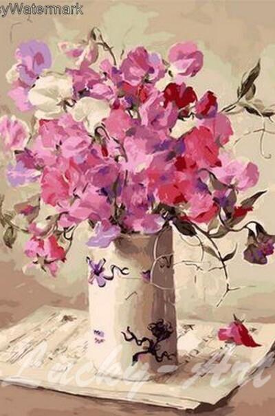 Музыка цветов худ. Коттерил Анне  (арт. MR-Q1062)